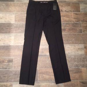 John Varvatos Black Dress Pants 30x34